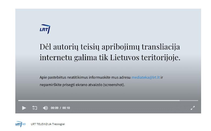 LRT TELEVIZIJA LRT Gyvai LRT